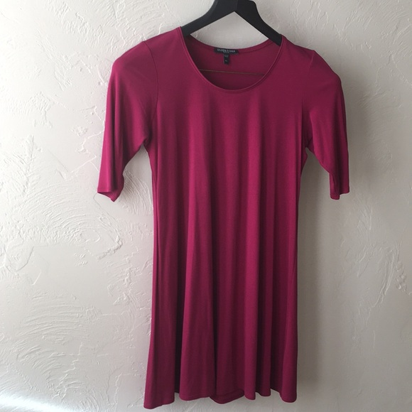 Eileen Fisher Dresses & Skirts - Eileen Fisher burgundy dress